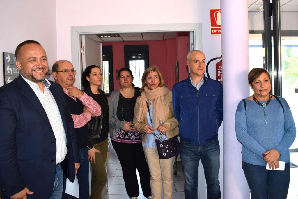 Visita de consejeros comarcales al CAD