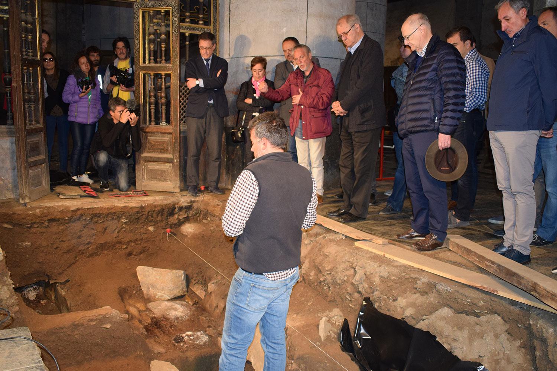 Excavaciones arqueológicas de San Pedro de Montes