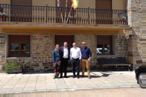 Visita institucional al Ayuntamiento de Berlanga del Bierzo