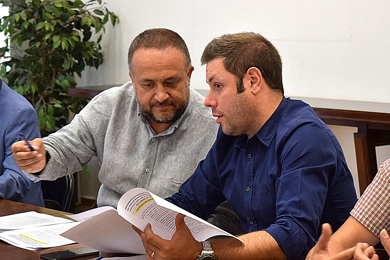 Gerardo Álvarez Courel e Iván Alonso