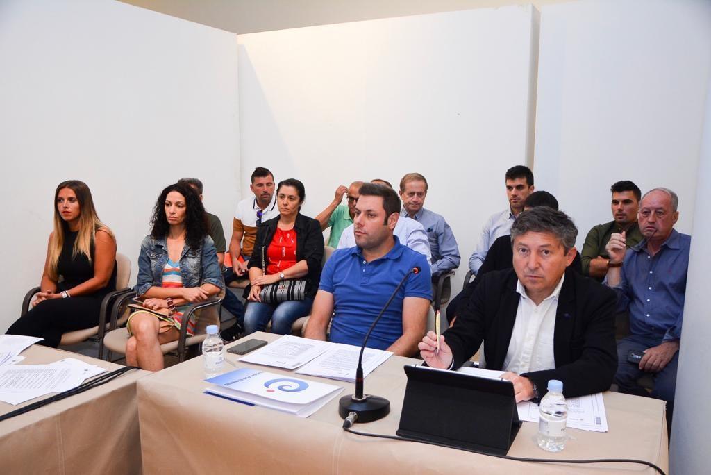 Los portavoces de Coalición por El Bierzo y USE, Iván Alonso y Samuel Folgueral.