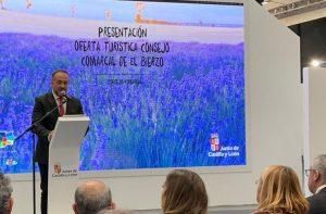 Gerardo Álvarez Courel presentó el Campo Valiente en FITUR