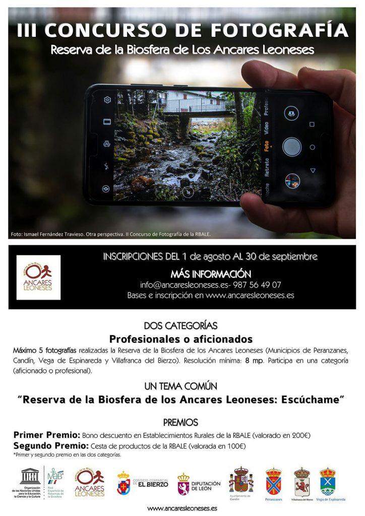 Cartel del III Concurso de Fotografía