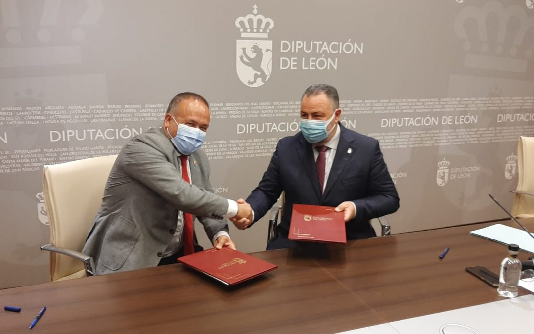 Consejo y Diputación firman por cuatro años su compromiso con el Banco de Tierras de El Bierzo