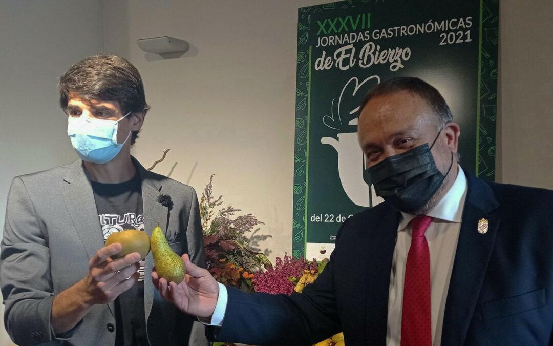 El científico Saúl Ares inaugura las XXXVII Jornadas Gastronómicas recordando su vinculación con la tierra y los productos de calidad bercianos.
